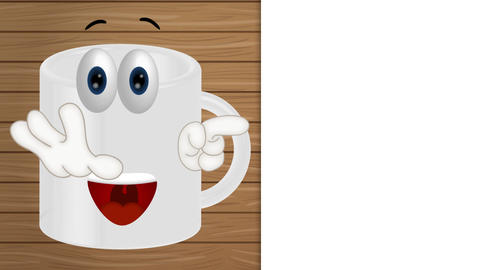Funny Cup Cartoon Animation Pack 0