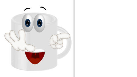 Funny Cup Cartoon Animation Pack 1