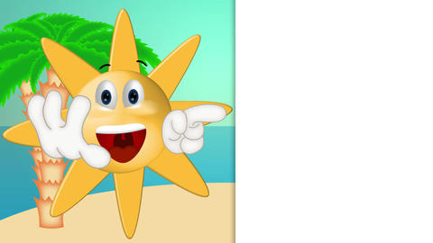 Funny Sun Cartoon Animation Pack 1