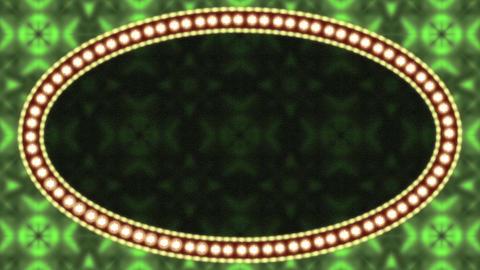 Casino Vintage Ellipse Frames Set