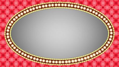 Casino Vintage Ellipse Frames Set 2