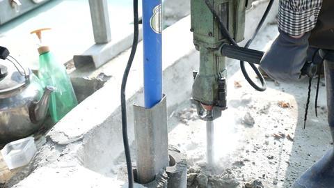 Electric pick breaker hammer, Demolition hammer Footage