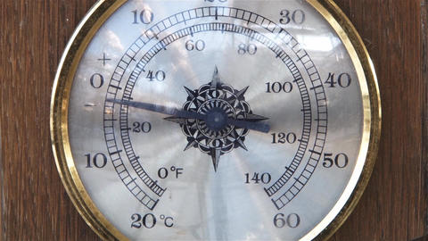 Temperatures liable to decreases rapidly in thermometer 03 Footage