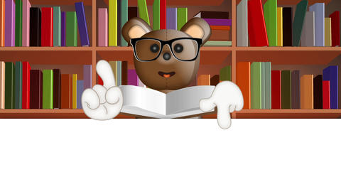 Cartoon Teddybear School Animation Pack 0