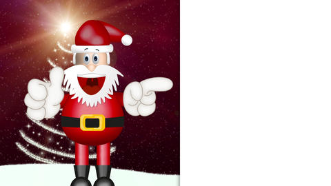 Funny Santa Claus Animation Pack