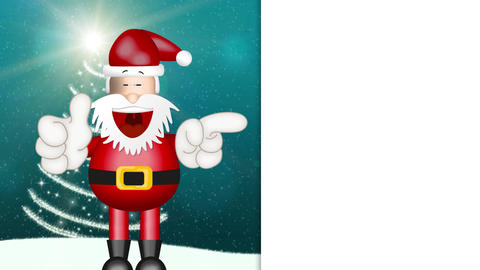 Funny Santa Claus Animation Pack 0