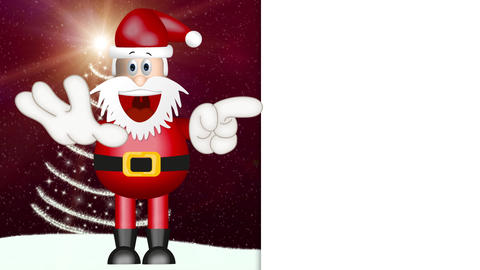 Funny Santa Claus Animation Pack 1