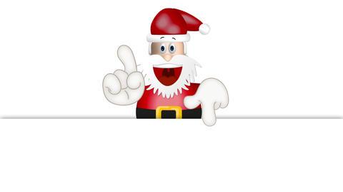 Funny Santa Claus xmas christmas illustration cartoon Animation