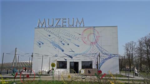 Museum of Modern Art in Warsaw Footage