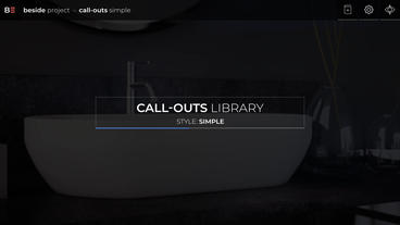 CALL OUTS SIMPLE After Effects Template