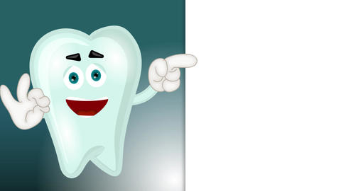 Funny Tooth Cartoon Animation Pack