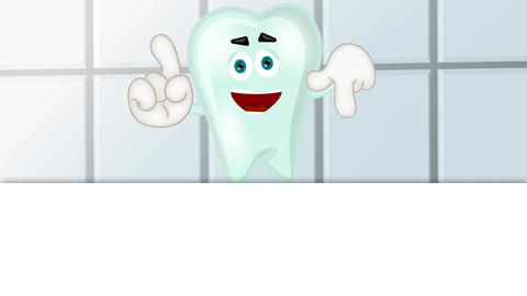 Funny Tooth Cartoon Animation Pack 1