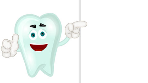 Funny Tooth Cartoon Animation Pack 2