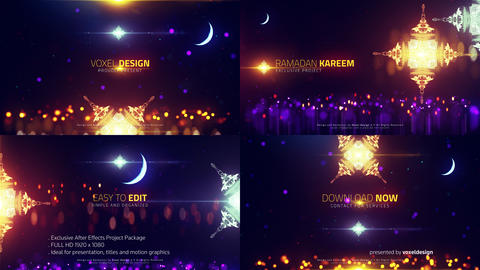 RAMADAN Islamic Titles After Effects Template