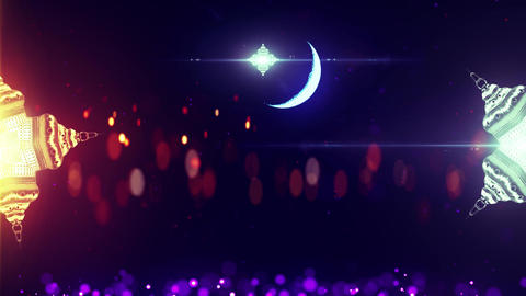 Ramadan Amazing Background Animation