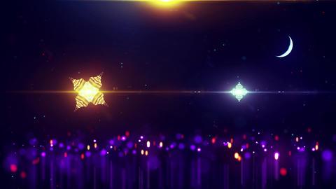 Ramadan Event Background Animation