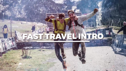 Fast Travel Intro After Effects Template