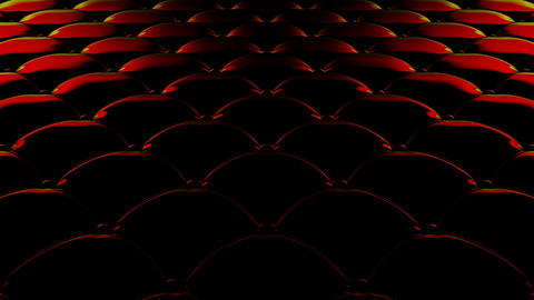 [alt video] 3D animation of the flight over a black quilted vinyl...