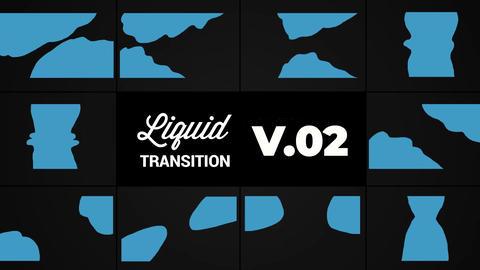 Liquid Transition V2 After Effectsテンプレート