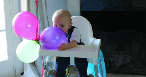 Adorable Baby Boy First Birthday ビデオ