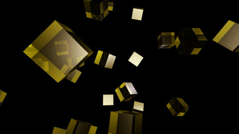 yellow cube Animation