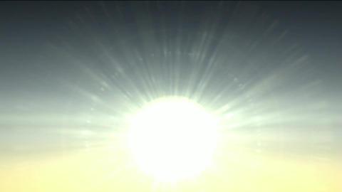 sunlight in dawn,sunrise,heavenly light Stock Video Footage