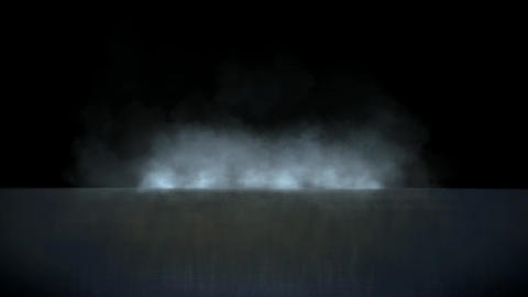 smoke throught the sea Animation