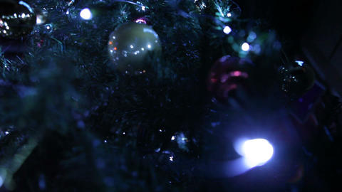 Christmas toys 02 Stock Video Footage