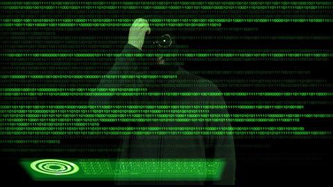 Hacker Breaking System 11 Stock Video Footage