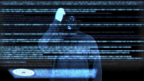 Hacker Breaking System 15 Stock Video Footage