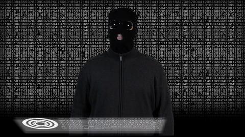 Hacker Breaking System Success 5 Stock Video Footage