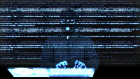 Hacker Breaking System Success 9 Stock Video Footage