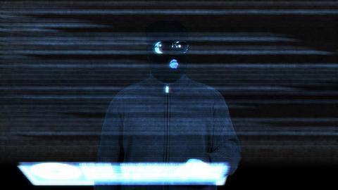 Hacker Breaking System Success 9 Footage