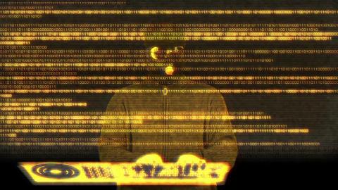 Hacker Breaking System Success 11 Stock Video Footage