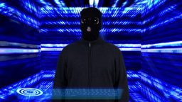 Hacker Breaking System Success Tunnel Design 6 Stock Video Footage