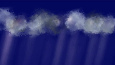 cloud & rainstorm,rays light Stock Video Footage