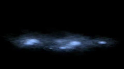golden water drop & ripple in pond,splash geyser Stock Video Footage