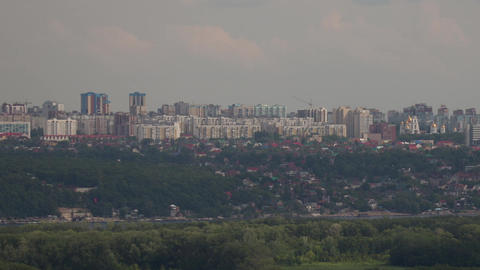 The view of the city Footage