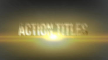 Cinematic Action TItles After Effects Template