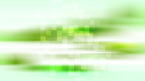Green shiny tech stripes and squares video animation Animation