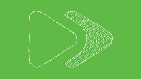 Greenscreen Hand Drawn Chalk Arrows Vol2 0