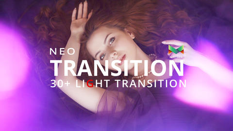 Neo Light Transition After Effects Template