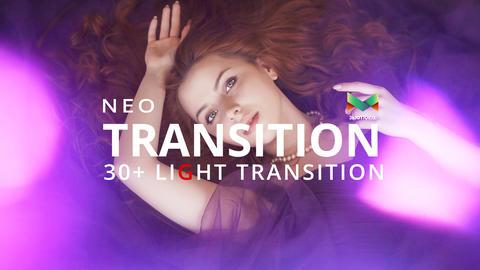 Neo Light Transition Plantilla de After Effects