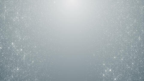 Particles white business clean bright glitter bokeh dust abstract background loop Animation