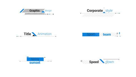 Design Title 4K モーショングラフィックステンプレート