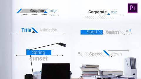 Title Corporate 4K Premiere Proテンプレート
