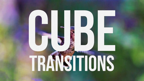Cube Transitions Premiere Proテンプレート