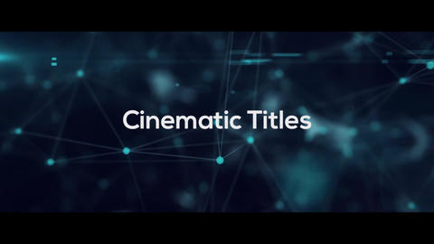 Cinematic Titles Premiere Proテンプレート