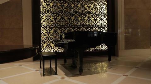 The Black Retro Piano Live Action