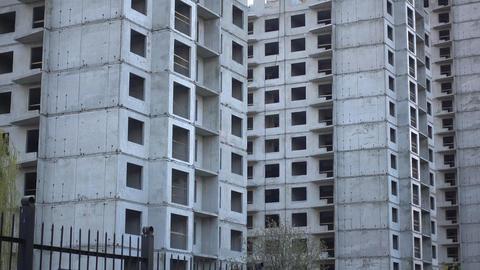 Unfinished Bankrupt Building Construction GIF